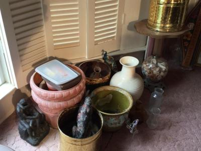 Various Planters and Vases