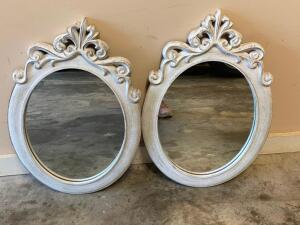 Oval Bow Mirrors