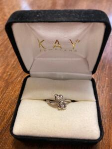Kay Jewelers Double Heart Ring