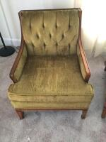 Vintage Arm Chair (green)