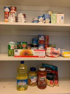 Pantry and broom closet