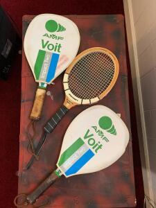 Voit and Sportcraft racquetball rackets