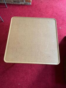 Samsonite metal top card table