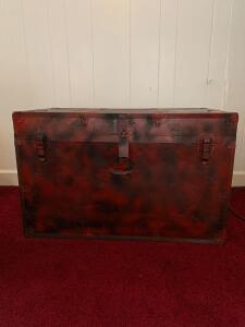 Red and black trunk