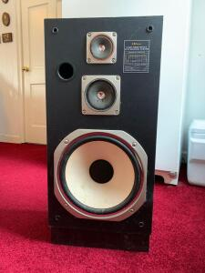 LXI 3-way bass reflex HIFI speaker, electronics