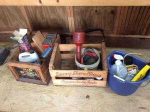 Assorted auto care items as shown