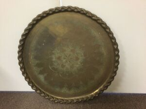 Large Brass Table Top