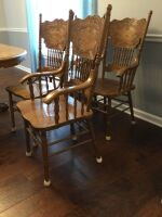 Dining Room Table and Chairs - 8