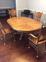 Dining Room Table and Chairs - 16