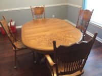 Dining Room Table and Chairs - 17