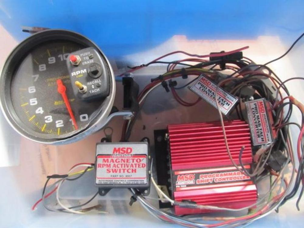 Autometer Tach Wiring Msd